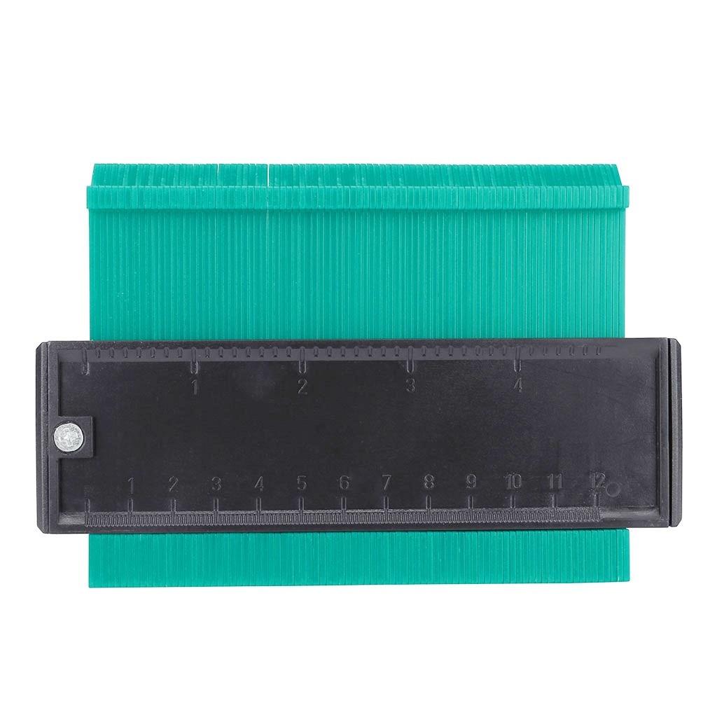5 Inch Plastic Contour Duplicator Circular Frame Profile Gauge Measuring Ruler