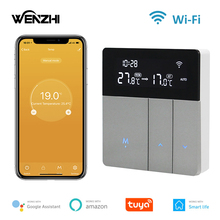 Wifi Warm Floor Thermostat Digital Temperature Controller For Water Heating Electric Gas Boiler Tuya Smart Life Alexa Home 220V