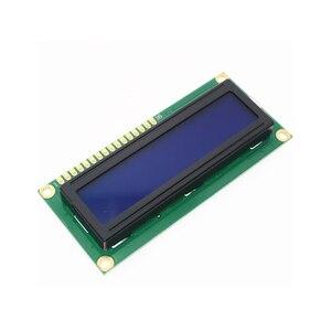 2 шт./лот ЖК-дисплей 1602 1602 Модуль синий экран 1602A 16x2 персонажа ЖК-дисплей Дисплей Модуль синий черный свет для arduino