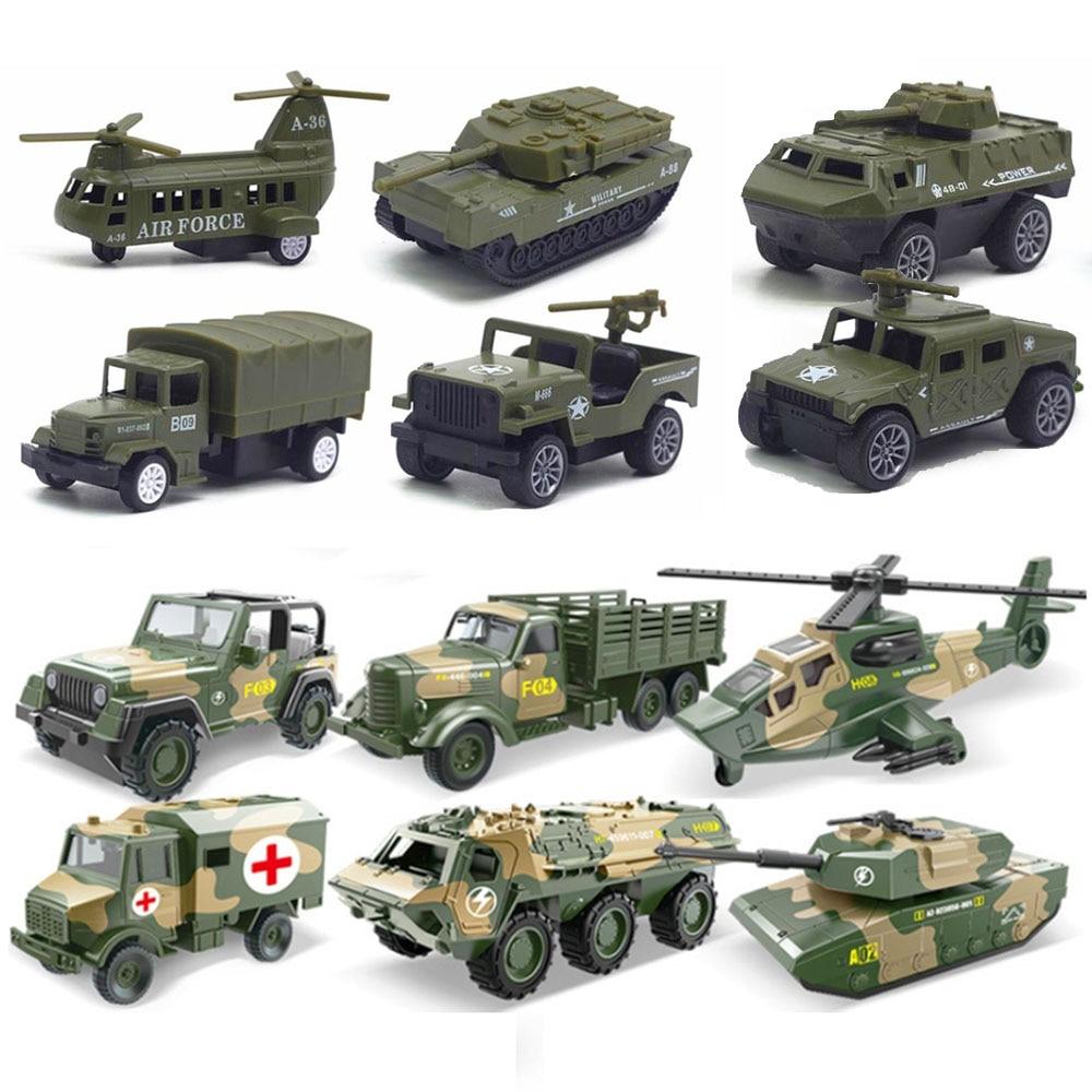 Модель тактического военного автомобиля из искусственного сплава для катания на лыжах, военный зеленый танк, БРОНИРОВАННЫЕ АВТОМОБИЛИ, мод...