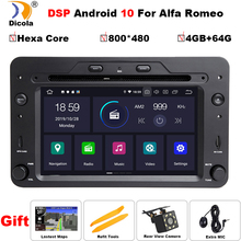 GPS Navigation Alfa Romeo Android 10 Autoradio Dvd-Player Audio Sportwagon Wifi Px6 Dsp