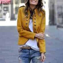 2019 Coats Women Long Sleeve Outwear Stand Collar Loose Jackets Winter Coat Card