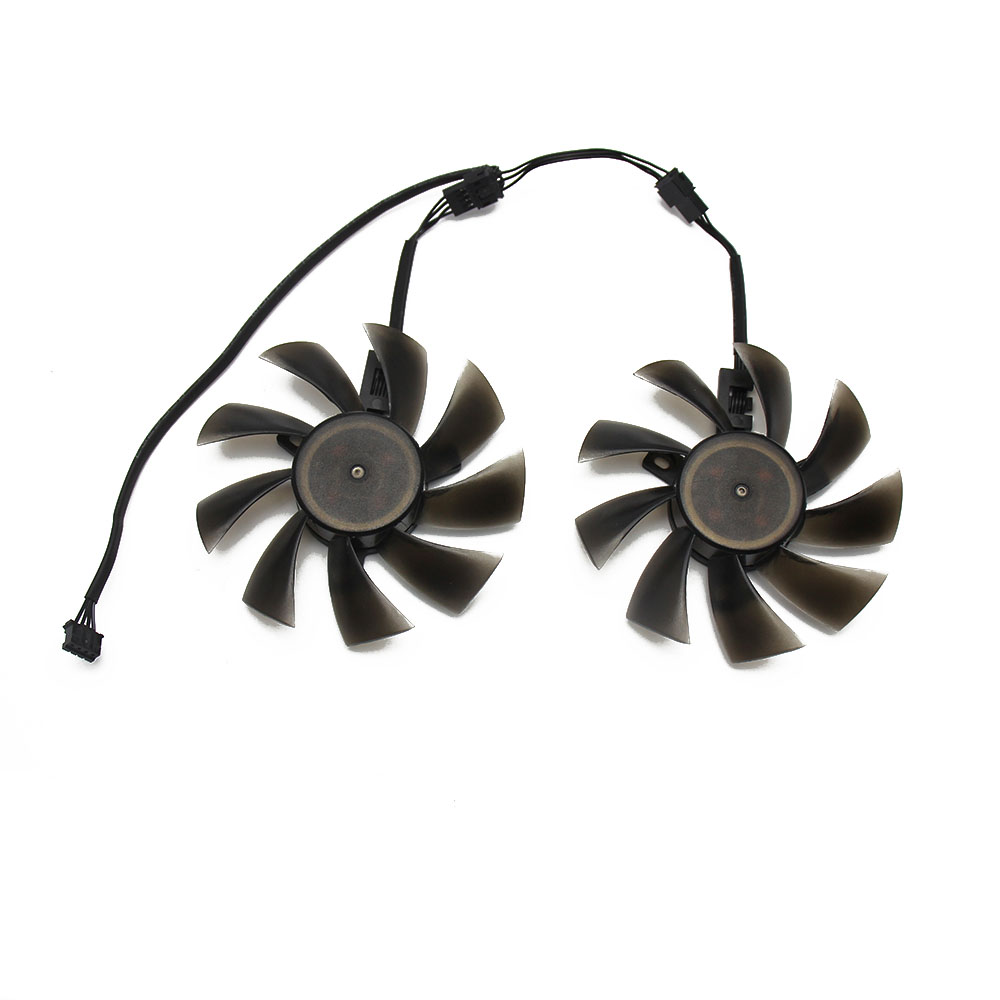 New 85mm DC 12V 4Pin VGA Cooler Fan Replacement For Zotac GTX1060 6Gb GTX 1060 3GB Mini HP RX480 HPRX480 Graphics Video Card DIY image