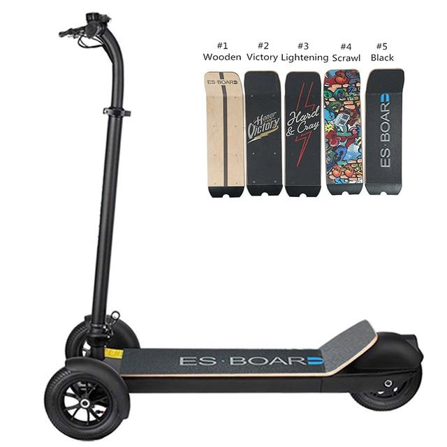 3 Wheel Golf Trolley Electric E Skateboard Self Balancing Scooter Long Range 500W Powerful Foldable For Club Free Shipping 4