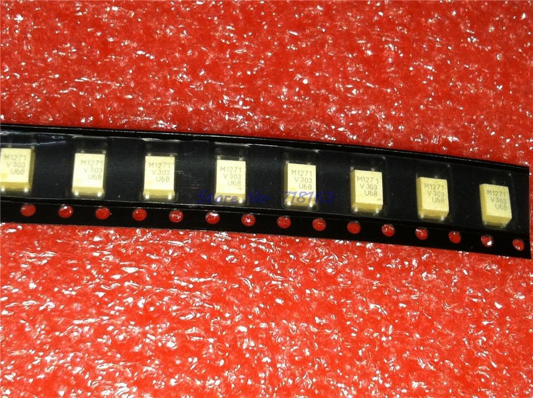 10pcs/lot VOM1271T VOM1271 M171 SOP-4 In Stock