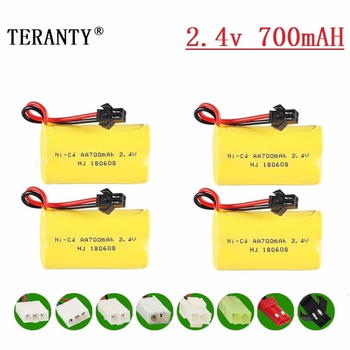 (M Model ) 2.4v 700mah NiCD Battery For Rc toys Car Tanks Trains Robot Boat Gun Ni-CD AA 700mah 2.4v Rechargeable Battery image