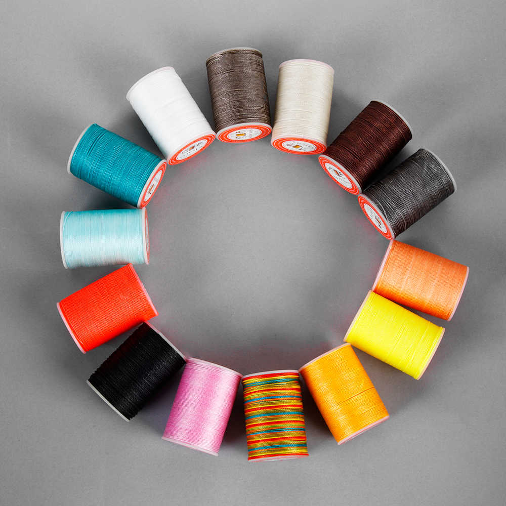 0.55mm120Meters Waxed Thread String for Leather Sewing String Thread Cord For DIY Crafts Handicraft Tool Hand Stitching