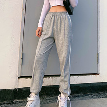 SEASONS High Waist Streetwear Sweatpants Women Fas