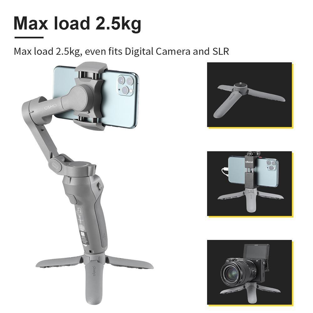 Matte Surface Design Mobile Phone Camera Stabilizers Mini Portable Desktop Tripod For Digital SLR Camera
