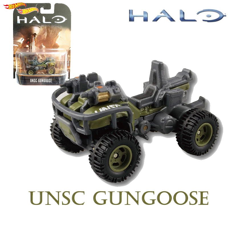 Goose-Collection-Toys Model-Gun Halo Game Hot Wheels Classic Boy DMC55 Chariots Birthday-Gift