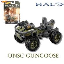 Оригинальные горячие колеса Halo War игра классическая модель колесницы пистолет Гусь Коллекция игрушки подарок на день рождения мальчика DMC55
