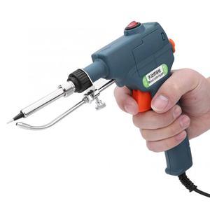 Image 5 - Soldador de calefacción interna portátil de 80W que envía automáticamente pistola de estaño herramienta de reparación de soldadura