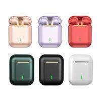 Auriculares inalámbricos con Bluetooth J18, dispositivo de audio TWS, con micrófono, impermeable, para juegos, auriculares para el móvil