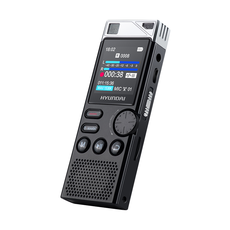 Dictaphone Hifi-Player Voice-Activated-Recorder Professional E750 Hyundai Noise-Reduction