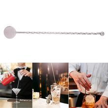 5 шт. из нержавеющей стали, палочки для смешивания коктейлей, миксер для напитков, палочки для перемешивания, инструменты для бара(круглый шарик