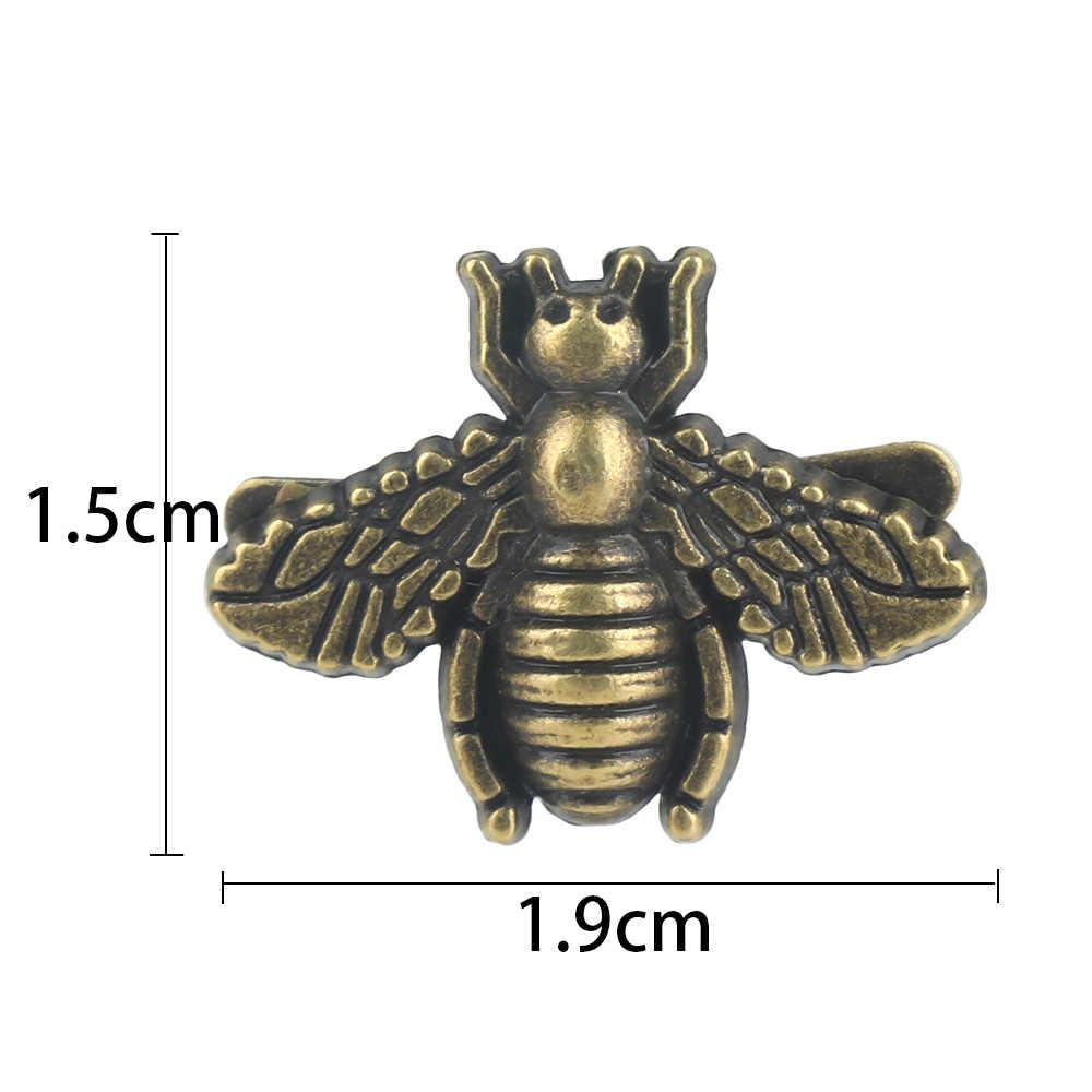 Sac avec fermoir en métal, mode 1 pièce, sac avec décoration pour animaux d'abeille, pratique, sac de bricolage, accessoires de sac à main