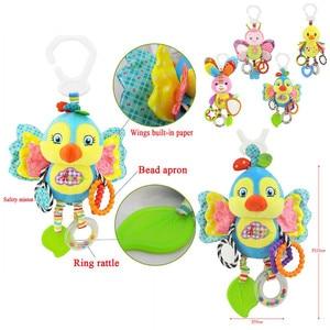 Image 4 - Chocalho de brinquedo infantil, espiral macio para berço, cama, carrinho, brinquedo para bebê, recém nascidos, assento de carro, pendurado, brinquedo educacional para presente