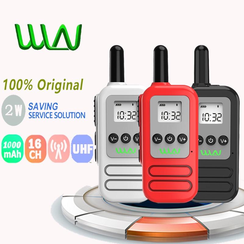 Novo 100% original mini wln Kd-C90U rádio em dois sentidos 2w 16ch UHF400-470MHz handheld walkie talkie baofeng tyt walkie talkie cb rádio