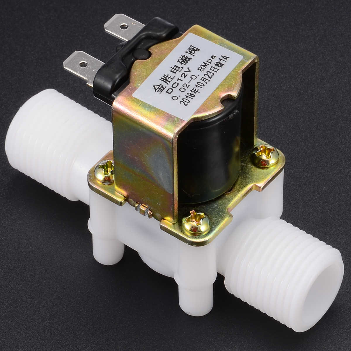 """1PCS 1//2/"""" Solenoid Electric Valve for Water Air Switch N//C Normally Closed"""