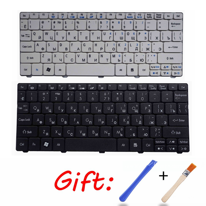 Russian Keyboard For Acer For Emachines ZE6 ZE7 PAV70 PAV80 NAV50 350 EM350 NAV51 355 EM355 D255E AOD255E NAV70 POVE6 RU Black