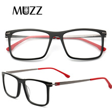 Men Acetate Glasses Frame Myopia Optical Spectacles Frames Square TR90 Computer Prescription Goggles Eyewear