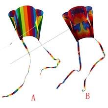 Детский Красочный мини карманный воздушный змей для активного отдыха, спортивное программное обеспечение, воздушный змей, летающий, высокое качество, подарок, Прямая поставка# F