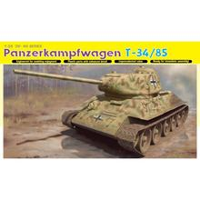 DRAGON 6759 1/35 Panzerkampfwagen T-34/85 (No.112 Factory, 1944 Production) - Scale Model Kit(China)