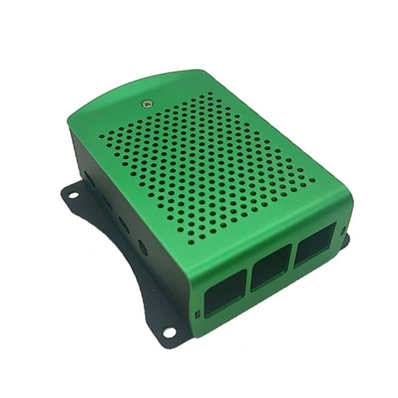 Latest-Aluminum-case-with-Heatsink-Hanging-bracket-Compatible-fan-for-Raspberry-Pi-4-Model-B (4)