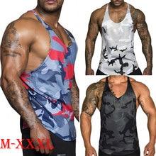 Clothing Singlet Fitness Shirt Tank-Top Sport-Vest Muscle-Bodybuilding Summer Sleeveless