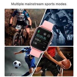 Image 4 - P8 חכם שעון גברים נשים 1.4 אינץ מגע מלא כושר גשש ספורט קצב לב צג IP67 עמיד למים עבור Xiaomi Amazfit GTS