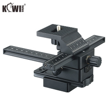 KIWIFOTOS FC 1 Close up 4 Way Macro Focusing Rail Slider For CANON/NIKON/SONY/PENTAX DSLR Cameras Camcorder