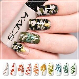 Image 5 - Nail Stamping Polish Set Nail stamp templates Varnish 10g 41 Colors Nail Polish Set 2 uses nail art pen Stamps Nails nail plates