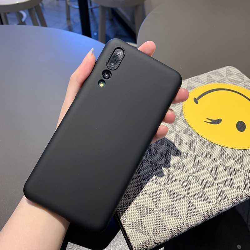 For Huawei P20 P30 Mate 10 20 Nova 3 3i 4 5 Honor 8 8X 9 SE10 10i 20 20i Lite Pro Color Matte Soft Liquid Silicone Case Cover