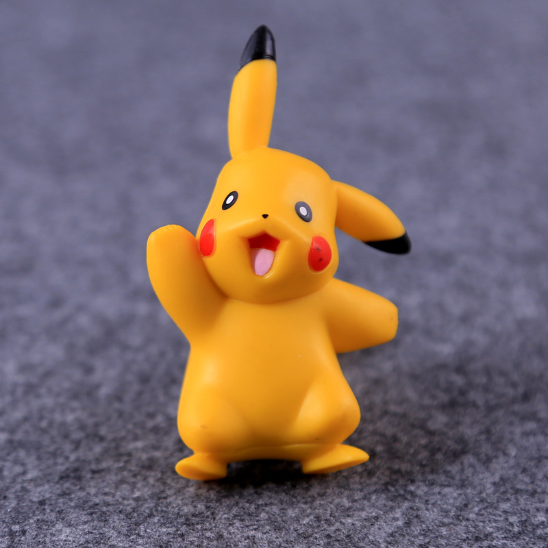 6-8CM Pokemon Figures Dolls Collection Pikachu Cartoon Pokémon Series Anime Model Ornaments Toys Kids Birthday Gift 2