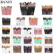 цены Makeup Brushes Set 20Pcs Eyebrow brush set Foundation Blush Brush Powder Blending Eyeshadow Beauty Make up Brush Tool Kit