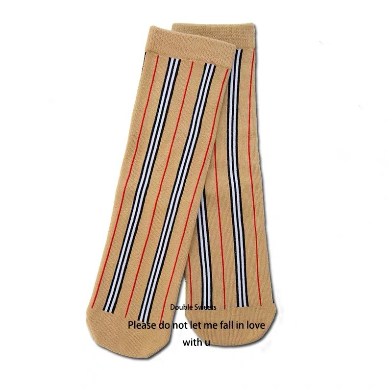 b-home-celebrity-style-spring-and-summer-children-versatile-striped-socks-men-and-women-children-fine-combed-cotton-socks-baby-t