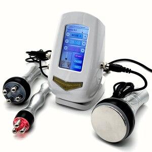 Новинка, новая модель RF радиочастотная вакуумный Липо-Лазер Кавитации Body Shaper Вес потери мышц похудение коррекция фигуры Сжигание жира снижение веса спа