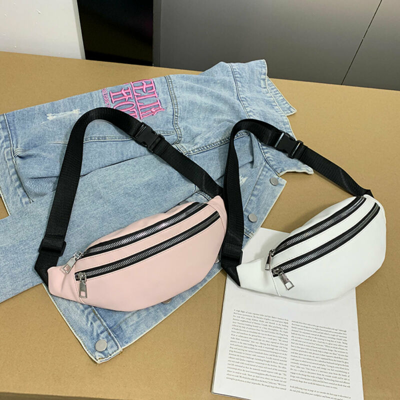 New Women Waist Fanny Pack Belt Bag Travel Hip Bum Bag Small Purse Chest Pouch