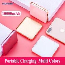 Nohon mini Power Bank 10000mAh For iPhone 11 XR XS Huawei Xi