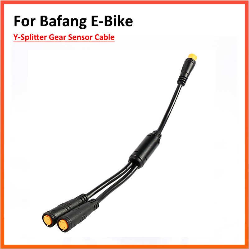 Adapter Y-Bộ Chia Cáp Xe Đạp Phanh Cảm Biến 8Fun Cho Bafang Bbs01B Bbs02B Bbshd Giữa Động Cơ Dẫn Động ABS Nối Dài dây