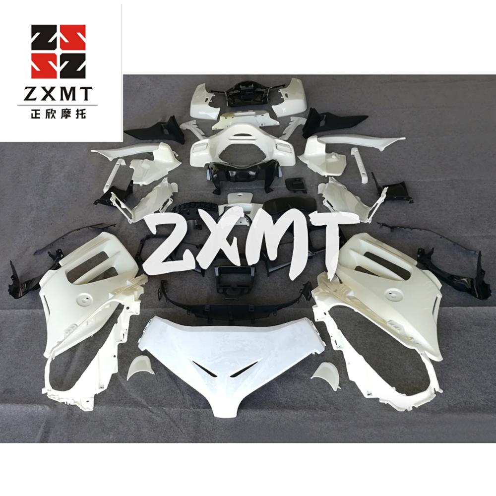 ZXMT Full Fairing Set Kit For Goldwing 1800 2012-2015 GL 1800 2013 2014 JY1800 Unpainted White Injection Goldwing1800 12