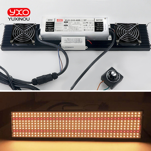 Image 5 - led grow light LED Lamp LM301B 400Pcs Chip Full spectrum 240w samsung 3000K, 660nm Red Veg/Bloom state Meanwell driver