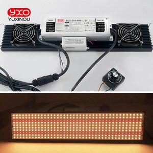Image 5 - Đèn LED Phát Triển LED Đèn LM301B 400 Chiếc Chip Suốt 240 W Samsung 3000K, 660nm Đỏ Veg/Nở Bang MEANWELL Lái Xe