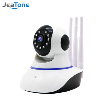 Jeatone Home Security 1080P Wifi IP Camera Audio Record SD Card Memory P2P HD CCTV Surveillance Wireless Camera Baby Monitor 1080p 2mp wireless indoor wifi surveillance camera two way audio cctv security ip camera home dome baby monitor support sd card