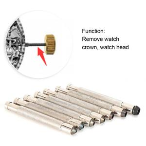 Image 4 - 7pcs 3.0 3.5 4.0 4.5 5.0 6.0 7.0 Watch Crown Winder Screw Repairing Watch Tools for Watchmakers watch repairing workers
