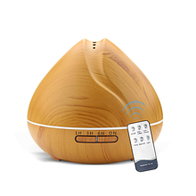 550ml Ultrasonic Humidifier Oil Diffuser with Remote Control Air Aroma Humidifier for Office Bedroom