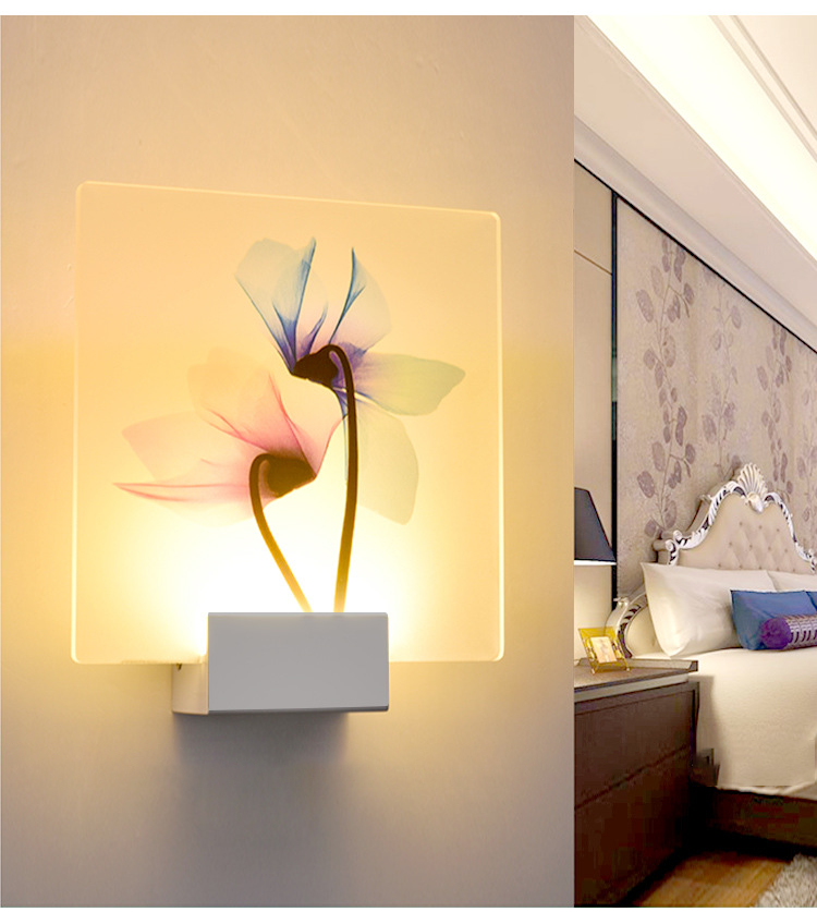 Minimalist LED Wall Lamp For Living Room