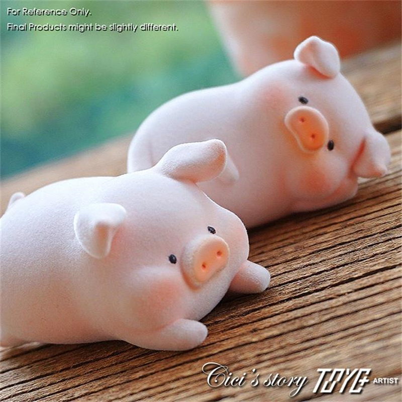 Blind Box Authentic Cicistory Canned Pig Lulu Pig Trend Mini Doll Hand Toy Gift Decoration