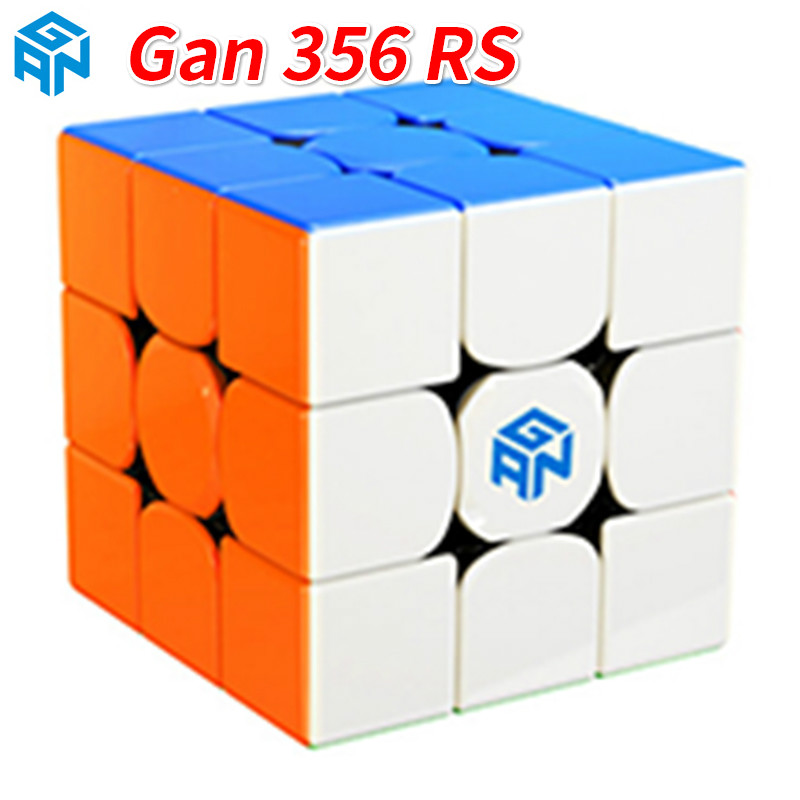 New Gan356 R S 3x3x3 Stickerless Magic Professional 356 RS Speed Magico Cubs Gan356RS 3x3 Cubos  Toys For Boys