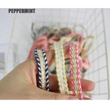 Costume-Dress Webbing Cotton Trim Sewing-Supplies Ribbon-Gloden Lace DIY Braid 12mm Craft